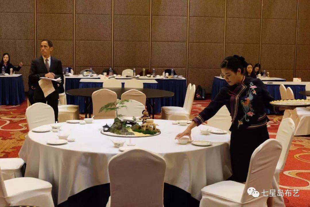 中餐摆台比赛